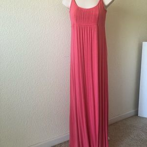 CALVIN KLEIN pink maxi dress size 2